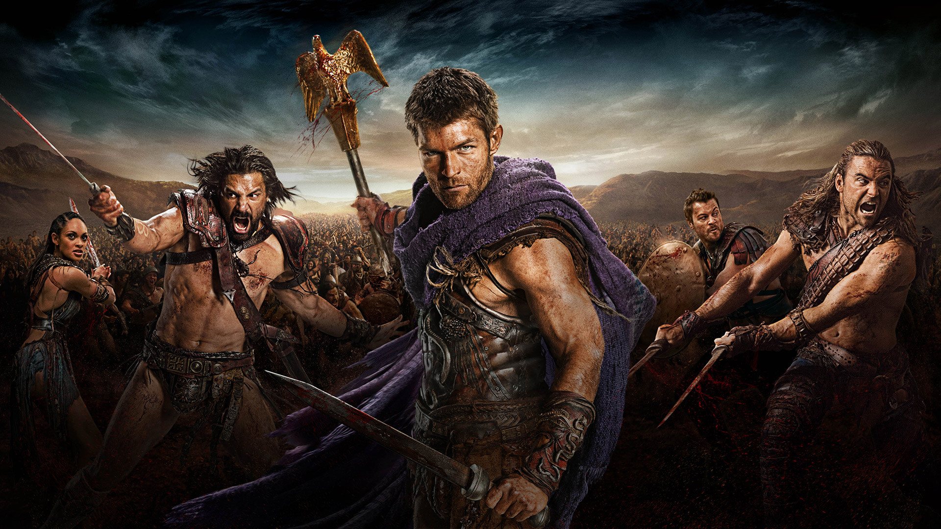 List of all seasons of Spartacus in order, plot, actors, basic information 49