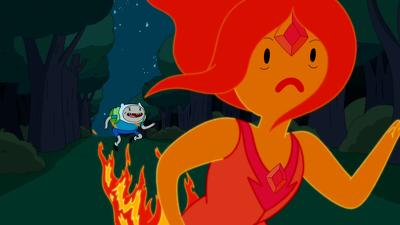 Adventure Time (S04E01): Hot to the Touch Summary - Season 4