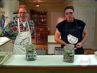 Good Eats (S03E01): American Pickle Summary - Season 3