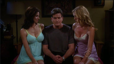 Captain Terry 39 S Spray On Hair Summary Two And A Half Men